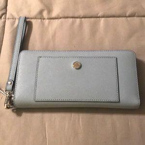 Michael Kors baby blue wallet